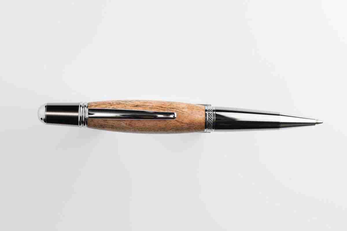 August Pens Bronte Black Wood Figured